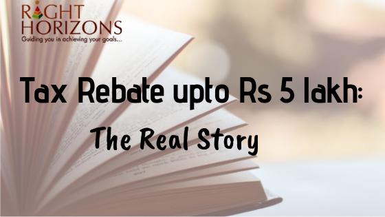 Tax-Rebate upto 5 lakh image